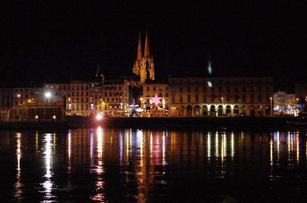 Bayonne by night
