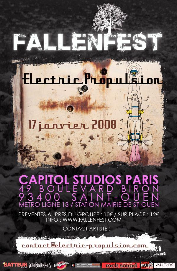 Fallenfest 1er tour